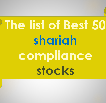 The list of 50 shariah & None Shariah compliance stocks